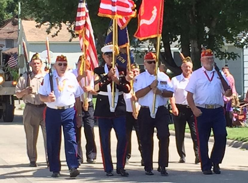 6 2016 Heritage day color guard