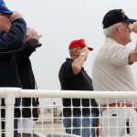 salute at air show