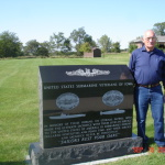 Ted Lanske at Iowa Veterans Cemetery and SUBVETS Tribute