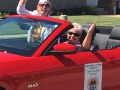 16 2016 State Auxiliary President with Wanda driving