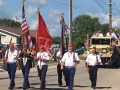 7 2016 Heritage day parade color guard