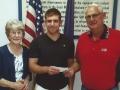 Sons of AMVETS Al Bock Memorial Scholarship winner Andrew Ragsdale